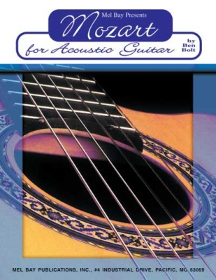 Mozart Wolfgang Amadeus : Mozart for Acoustic Guitar