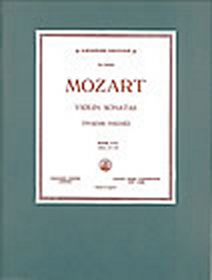 Mozart Wolfgang Amadeus : Sonatas Nos 15-19, K.454, K.481, K.526, K.537, K.404 with Piano