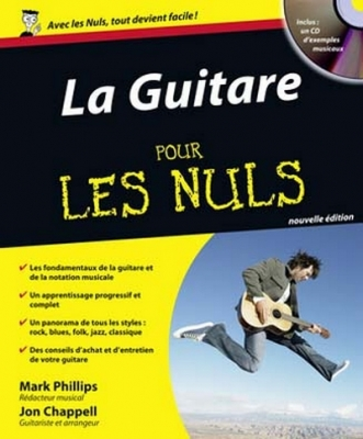 Phillips Mark / Chappell Jon : Pour Les Nuls Guitare Tab Cd