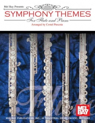 Puscoiu Costel : Symphony Themes for Flute and Piano