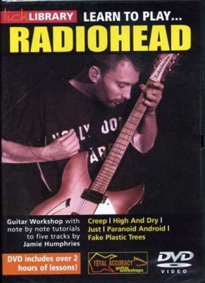 Dvd Lick Library Learn To Play Radiohead