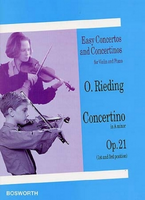 Rieding Oskar : Rieding Concertino In Am Op.21 Violin/Piano