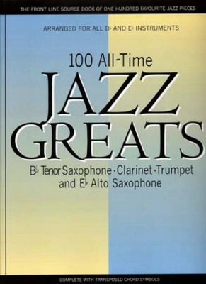 100 Alltime Jazz Greats Bb&Eb Tenor Clarinet/Trumpet