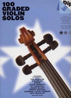 100 Graded Violin Solos