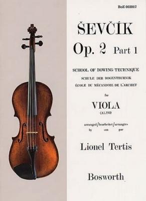 Sevcik Otakar : Sevcik Viola Op.2 Part.1