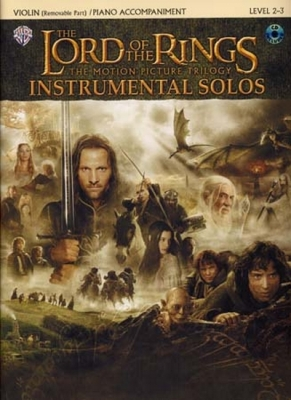 Shore Howard : Lord Of The Rings Instrumental Solos Violin Cd
