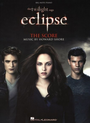 Shore Howard : The Twilight Saga - Eclipse (Big Note Piano)