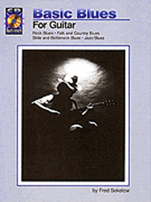 Sokolow Fred : Sokolow Basic Blues For Guitar Tab Cd
