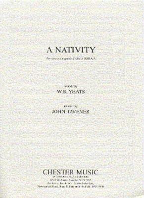 Tavener John : Tavener A Nativity Sssaa/Piano