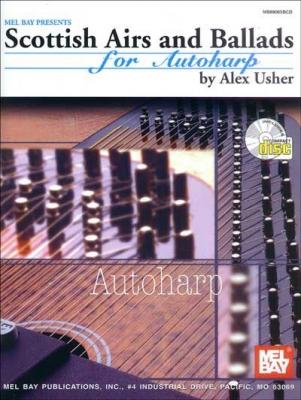 Usher Alex : Scottish Airs and Ballads for Autoharp