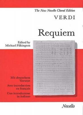 Verdi Giuseppe : Verdi Requiem Vocal/Score