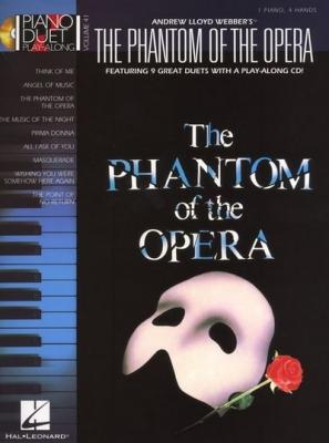 The Phantom Of The Opera - Piano Duet Play-Along Vol.41