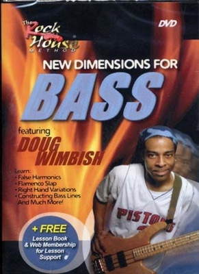 Dvd Wimbish Doug New Dimensions For Bass