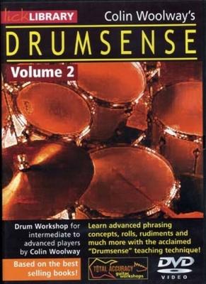 Woolway Colin : Dvd Lick Library Drumsense Vol.2 Woolways