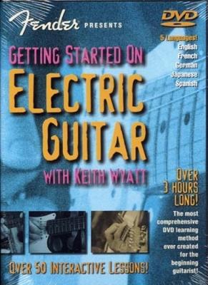 Dvd Fender Getting Started On Electric Guitar K. Wyatt (Francais)