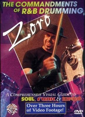 Dvd Zoro Commandments Of R And B Drumming