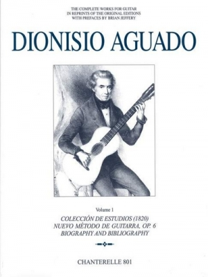 Aguado Dionisio : Complete Guitar Works Volume 1