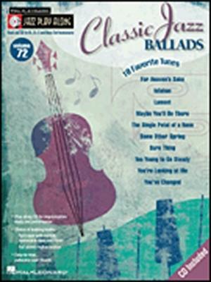 Jazz Play Along Vol.72 Classic Jazz Ballads Bb Eb C Inst.