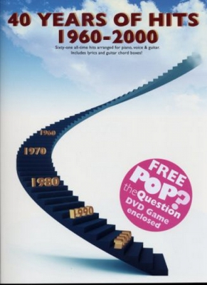 40 Years Of Hits 1960-2000 - +Free Dvd Pop Question
