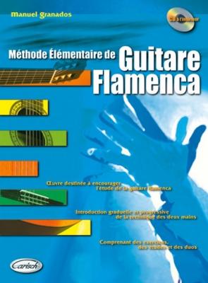Granados Manuel : Guitare Flamenca (bk/CD)