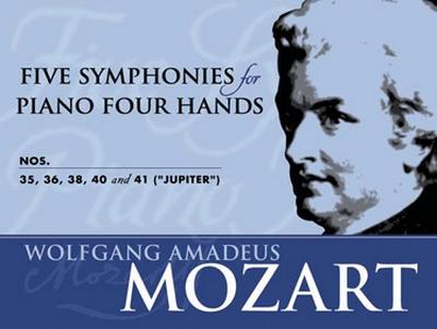 Mozart Wolfgang Amadeus : 5 SYMPHONIES N.35-36-38-41-41
