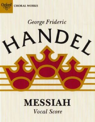 Haendel Georg Friedrich : Messiah: Vocal score