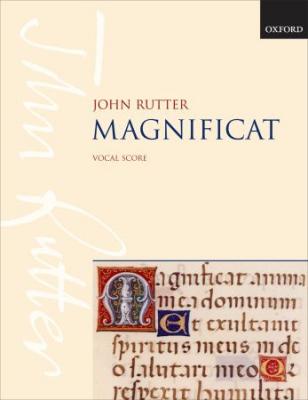 Rutter John : Magnificat: Vocal score
