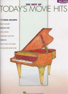 Best Of Today's Movie Hits Easy Piano 3Rd Edition