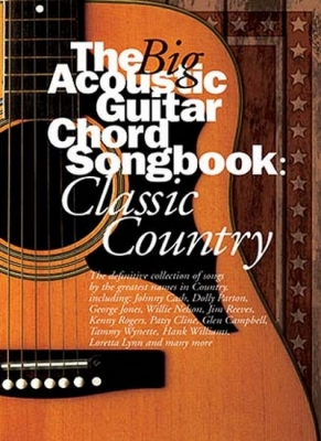 Big Acoustic Guitar Chord Songbook Classic Country Lc