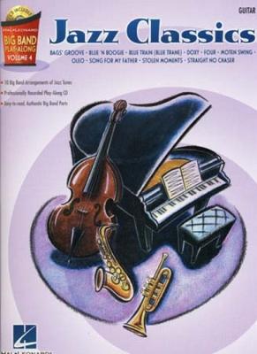 Big Band Play Along Vol.4 Jazz Classics Guitar Cd