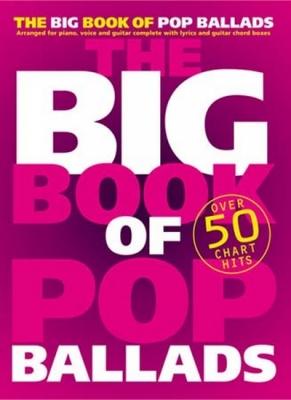 Big Book Of Pop Ballads Pvg