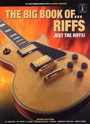 Big Book Of Riffs Tab