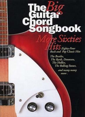 Big Guitar Chord Songbook More Sixties Hits