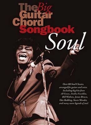 Big Guitar Chord Songbook Soul 80 Titles