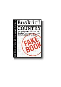 Busk It! Country Fakebkmlc