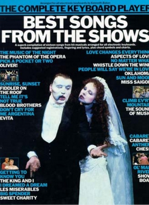 The Complete Keyboard Player - Best Songs from the Shows