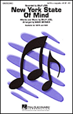 New York State Of Mind (SATB)