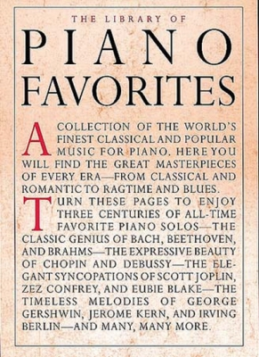 Appleby Amy : Library Of Piano Favorites