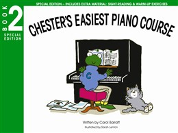Chester'S Easiest Piano Course Bk.2 Carol Barratt Special Ed.