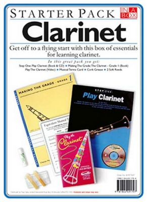 In A Box Starter Pack: Clarinet