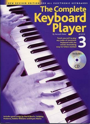 Baker Kenneth : The Complete Keyboard Player: Book 3 With CD (Revised Edition)