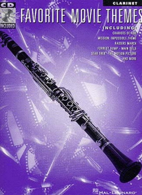 Favorite Movie Themes for Clarinet