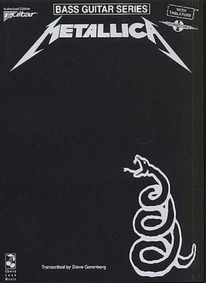 Metallica : Play It Like It Is Bass: Metallica - The Black Album