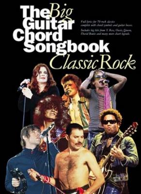The Big Guitar Chord Songbook : Classic Rock