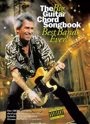 The Big Guitar Chord Songbook : Best Bands Ever!