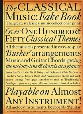 Classical Music Fakebook Ml
