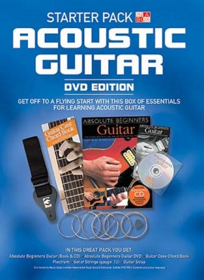 In A Box Starter Pack: Acoustic Guitar (DVD edition)