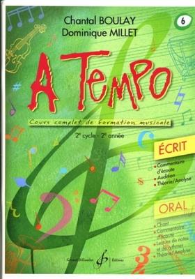 A Tempo - Partie Ecrite - Vol.6