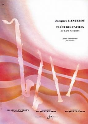 Lancelot Jacques : 20 ETUDES FACILES
