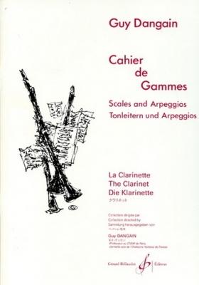 Dangain Guy : CAHIER DE GAMMES